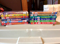 Thomas DVD Videos-$1 each or $10 for all 12