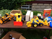 SOLD - Large vehicle toys
