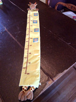Giraffe growth chart- $10